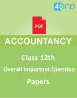 CBSE 12th Overall Important Accountancy Question Papers