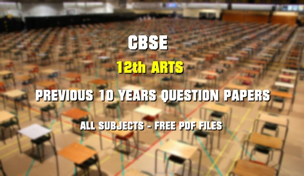 CBSE class 12 Political Science Papers