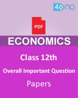 CBSE 12th Economics Overall Important Question papers