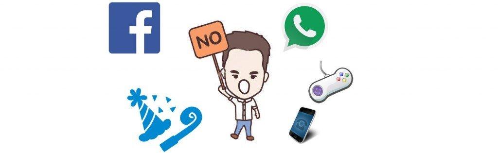 say no to social