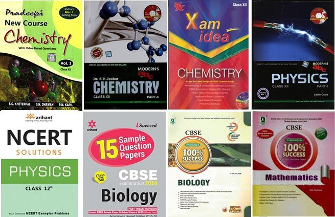 Books for cbse 12th physics chemistry maths biology fandeluxe Gallery