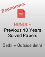 CBSE 12th Economics last 10 years solved paper