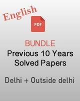 CBSE 12th English last 10 years solved paper