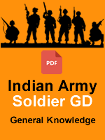 Indian Army Soldier GD GK