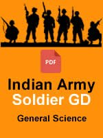 Indian Army Soldier GD GS