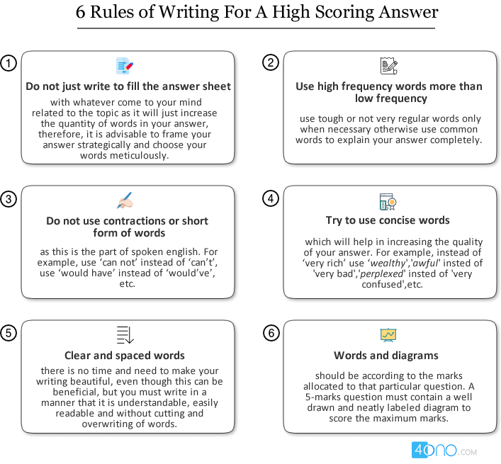 5 Tips On How To Write Perfect Answers In Board Exams