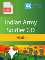 Indian Army Soldier GD Maths book
