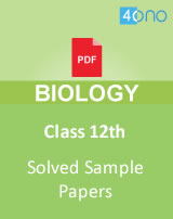 CBSE 12th Biology sample papers