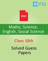 CBSE class 10 guess paper 2019 Maths, Science, Social Science, English, Hindi