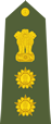 Indian army colonel shoulder patch