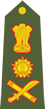 Indian army general shoulder patch